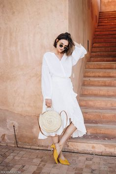 All white in Marrakech