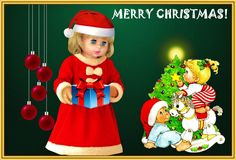 """MY GIFT FOR YOU  --   SEE THE VIDEO OF THIS DOLL:  """"SHOW AND RARE BEAUTY"""""""