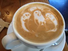 Halloween Coffee cup Full of Spirits