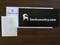Free Backcountry.com Sticker  #freestuff #freebies #samples #free