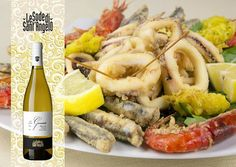 Vermentino LeGessaie + fried seafood