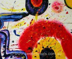 Abstract art on canvas by http://bestartdeals.com.au