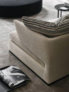 Amoenus - High quality designer Amoenus | Architonic Living Room Sofa, Sofa Design, Ottoman, The Originals, Furniture, Armchairs, Home Decor, House, Black