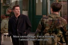 Take a look at The 33 Top One Line Zingers From Chandler Bing. From the razor sharp wit of Chandler Bing Friends Tv Show, Friends Moments, I Love My Friends, Chandler Friends, Friends Forever, Chandler Bing Zitate, Chandler Bing Quotes, Best Tv Shows, Best Shows Ever