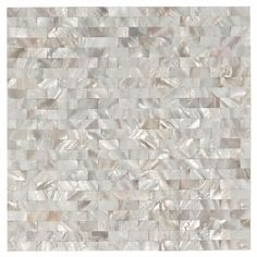 White Mosaic Mother of Pearl Tile