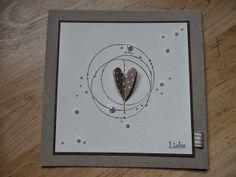 Jenny's Papierwelt: Karte ~ Einfach aus Liebe ~