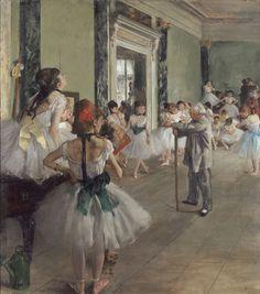 A Aula de Dança