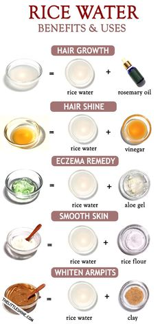 Rice water beauty benefits and uses - The Little Shine - mara Healthy Hair Growth, Healthy Skin Care, Beauty Tips For Glowing Skin, Beauty Skin, Face Beauty, Low Porosity Hair Products, Skin Care Routine Steps, Skin Care Remedies, Eczema Remedies