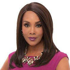 Vivica A. Fox JILL New Futura Fiber, Deep Lace Front Wig in Color FS1B33 -- For more information, visit image link.