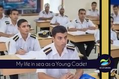 My life in sea as a Young Cadet !!!  Read the complete article at http://bit.ly/1gmd4M5