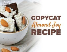 Copycat Almond Joy Recipe