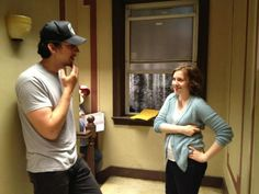"""#GIRLS Executive Producer Jenni Konner shared an image from the """"First day of rehearsals #girls season 2!"""" See more on the #GIRLS #Storify Production Diary"""