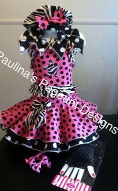 National Pageant Casual Wear Dress.  OOC. Size 3-5t #Handmade #DressyEverydayHoliday