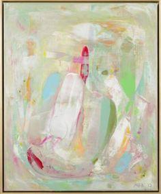 """Saatchi Art Artist Marit Geraldine Bostad; Painting, """"Old meet New I"""" #art"""