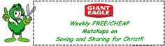 """GIANT EAGLE FREE/CHEAP this week - 2/7 - 2/13!! (Will be updating tomorrow as more coupons are added) MAKE SURE TO CLICK """"DISPLAY ALL MATCHUPS"""" to get the complete list:)"""