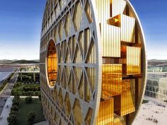 O edifício, que possui uma área interior de 85 mil metros quadrados distribuídos por 33 pisos, será ocupado pela maior bolsa de valores do mundo especializada em materiais plásticos e pela sede do gigante asiático da energia e produtos químicos, o Guang Dong Hongda Xingye Group.