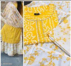 Dupatta Sets Women's Printed White Rayon Kurta Set with Skirt Kurta Fabric: Rayon Bottomwear Fabric: Cotton Fabric: Rayon Sleeve Length: Three-Quarter Sleeves Set Type: Kurta With Dupatta And Bottomwear Bottom Type: Skirt Pattern: Embroidered Multipack: Single Sizes: XXL (Bust Size: 44 in Kurta Length Size: 40 in Bottom Waist Size: 36 in Bottom Length Size: 40 in Duppatta Length Size: 2 m)  Country of Origin: India Sizes Available: M, L, XL, XXL   Catalog Rating: ★4 (974)  Catalog Name: Women Rayon Straight Embroidered Skirt Dupatta Set CatalogID_1540232 C74-SC1853 Code: 435-8949383-