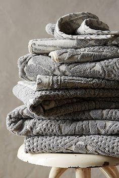Stone Carvings Towel Collection #anthrofave