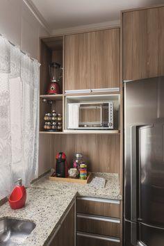 Cozinha é reformada sem quebra quebra e sem entulho   Minha Casa