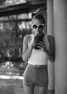 vogue-at-heart:  Camille Rowe for Free People, May 2014
