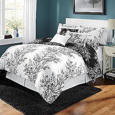 Black and White Comforter Set