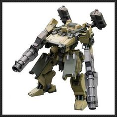 Armored Core - Very Detailed GAN01-SUNSHINE-L Free Mecha Paper Model Download - http://www.papercraftsquare.com/armored-core-detailed-gan01-sunshine-l-free-mecha-paper-model-download.html