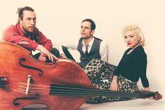 Aurora Brännström Trio. Photo by Elias Gammelgård.