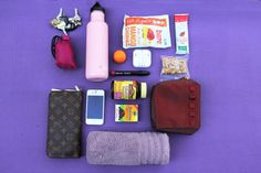 What's in my gym bag? Take a look!