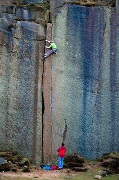 Nice little crack climb.