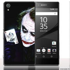 Coque xperia z5 Joker. #Coque #xperia #Z5 #Joker #Fun