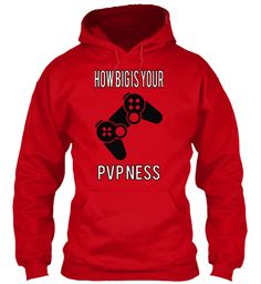 How Big Is Your Pvp Ness Red Sweatshirt Front