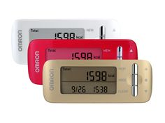 Walking, working, running or relaxing – monitor your calories every moment of the day with the OMRON CaloriScan