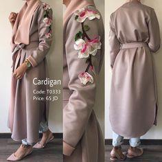"Cardigan coat  (@ghada.shop) on Instagram: ""Sold out!! كارديچان ربيعي بتصميم أنيق عصري و عملي والوان و خامة رائعة من تصميم غادة عثمان.. Sold…"""