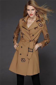 2014 Design New Arrival Autumn Winter Trench Coat Women Long Oversize Warm Wool Jacket European Fashion Overcoat Free Shipping