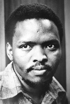 "todayinhistory: ""September Steve Biko dies On this day in South African anti-apartheid activist Steve Biko died whilst in police custody in Pretoria. Biko founded the Black Consciousness Movement and coined the famous phrase ""black. Apartheid, Port Elizabeth, Pretoria, Alma Mater, Black Is Beautiful, Beautiful People, Amazing People, Steve Biko, History Online"