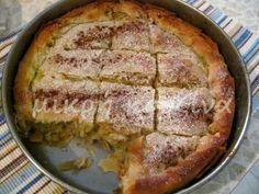 μικρή κουζίνα: Ρυζόπιτα Σερρών Sweet Buns, Sweet Pie, Greek Sweets, Greek Recipes, Tart, Bakery, Cooking Recipes, Lunch, Snacks