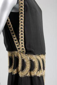 A rare Madeleine Vionnet beaded tunic dress, model 1759, Autumn-Winter, 1921, Kerry Taylor Auctions