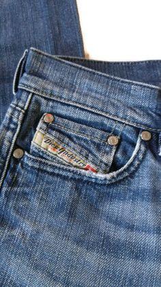 DIESEL Louveboot Low Waist Boot Cut Jeans MOD.RAME L.30 /81M Size 27 #DIESEL #BootCut #jeans
