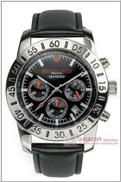 Riedenschild Grandprix Race Edition Chronograph black leather