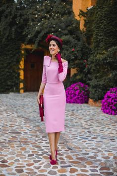 Kate Middleton, Looks Party, Ascot, All Fashion, Chic, Wedding Styles, Peplum Dress, High Neck Dress, Boutique