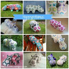 crochet happypotamus - ONE DAY!