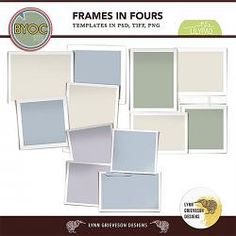 Frames in Fours