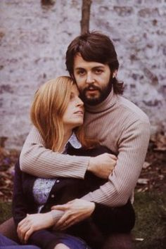 Paul & Linda...when she died, he said it was the first night they spent apart since their wedding.