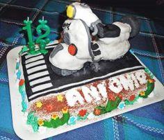 torta moto Vespa