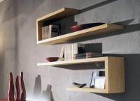 Полки для книг на стену3