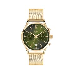 Henry London Hampstead Ladies Rose Gold Stainless Steel Mesh Bracelet Watch with Rose Gold Stainless Steel Casing Stainless Steel Mesh, Stainless Steel Jewelry, Mesh Bracelet, Bracelet Watch, Ladies Bracelet, Seiko, London Watch, Gold Plated Bracelets, Bangles