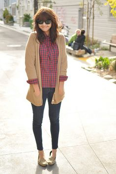 loafers + cozy sweaters  a daily outfit for me!
