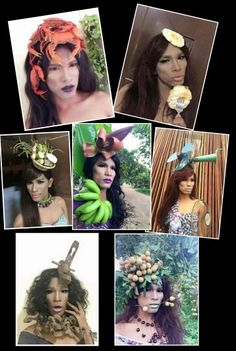 2015 Autumn Captivational Mesmerizing Hair accecories and make up * imagine how the manufacturing process wkwkwkwkw