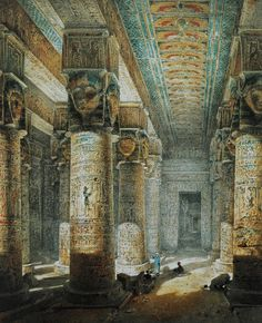 Temple of Dendera, built during the same period as the temple at Bubastis