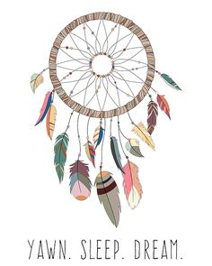 Native American Art, Boho Dream Catcher Print, Dream Catcher Print, Tribal Print Nursery, Bohemian W Nursery Prints, Nursery Art, Nursery Decor, Room Decor, Dreamcatcher Design, Dream Catcher Art, Tribal Animals, Tribal Nursery, Baby Drawing